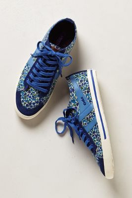 Petal Print Sneakers