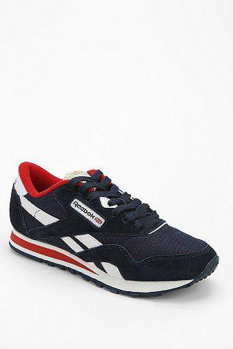 Reebok R13 Suede Running Sneaker