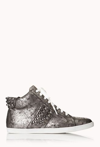 Total Stud High Tops | FOREVER21 -
