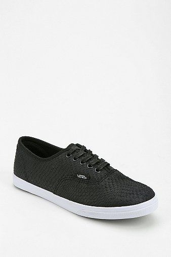 Vans Lo Pro Scaled Leather Women's Sneaker