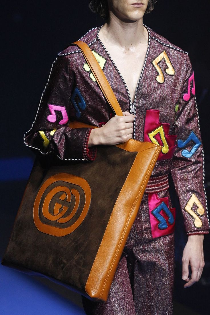 Gucci  Spring 2018 Ready-to-wear Fashion Details...