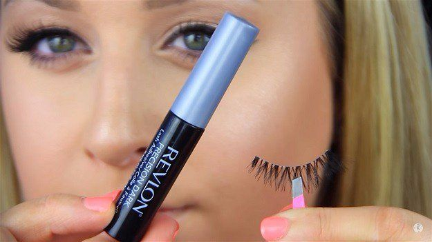 Blash Lash Glue | How to Apply Fake Eyelashes Beginner's Guide...