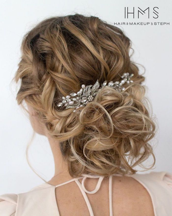 Wedding Hairstyle: Hair and Makeup by Steph...