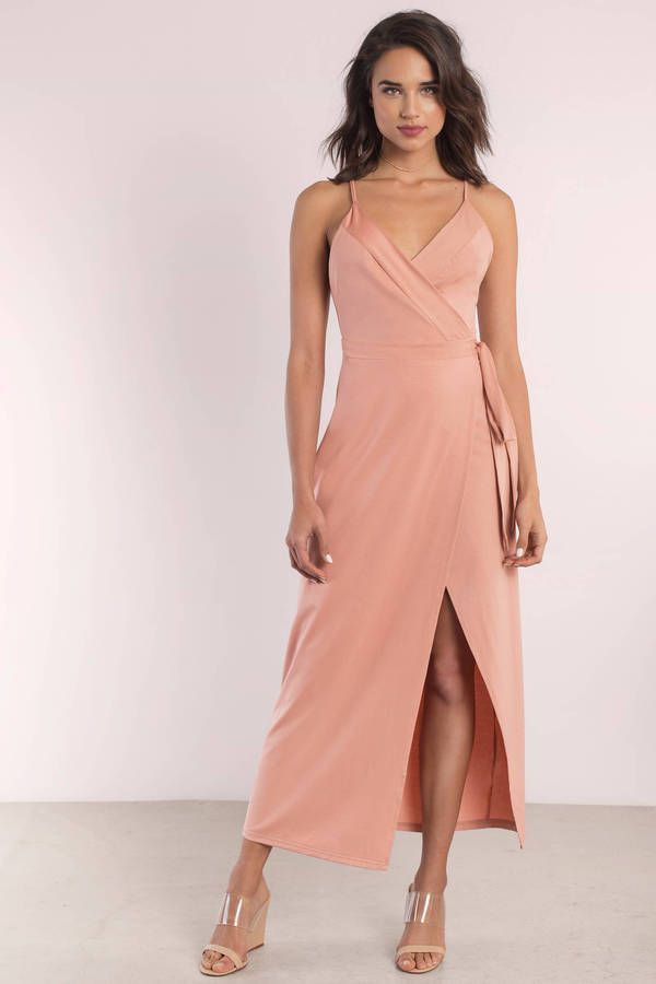Wyldr Wrap Over Me Maxi Dress