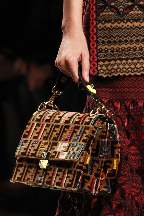 Fendi Fall 2017 Handbags Collection & more details...