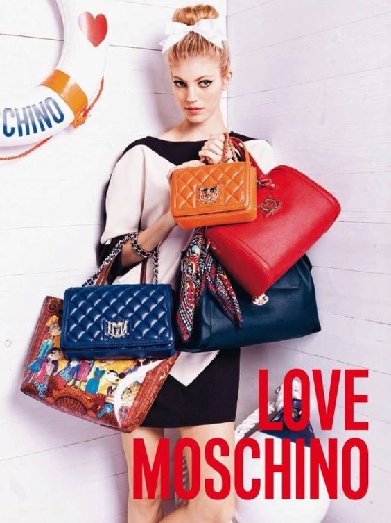 Moschino Handbags Collection & more details...