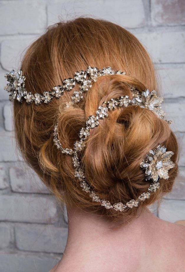 Featured Wedding Hair Accessory: Maria Elena Headpieces & Accessories...