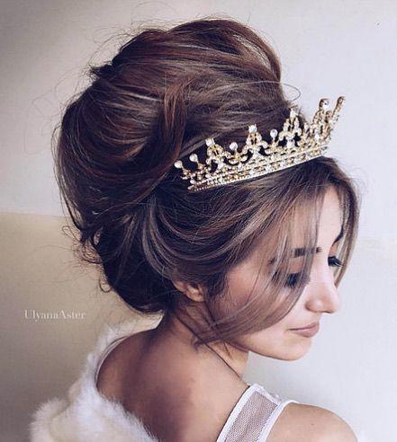 Featured Hairstyle:Ulyana Aster;www.ulyanaaster.com; Wedding hairstyle idea....