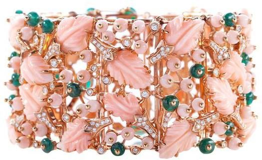 ARTEMEST - PARADISO PINK CORAL BRACELET: This 18k rose gold bracelet by the hist...