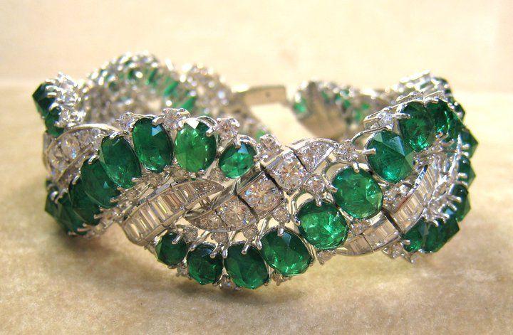 Harry Winston emeralds and diamonds