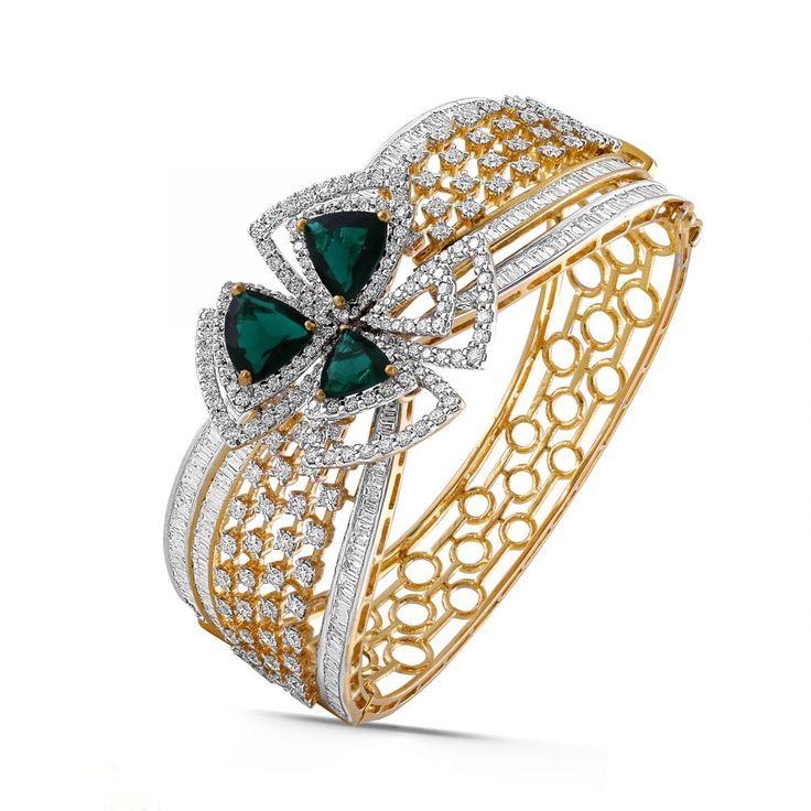 Nina Diamond Gold Bracelet BR140206-3...