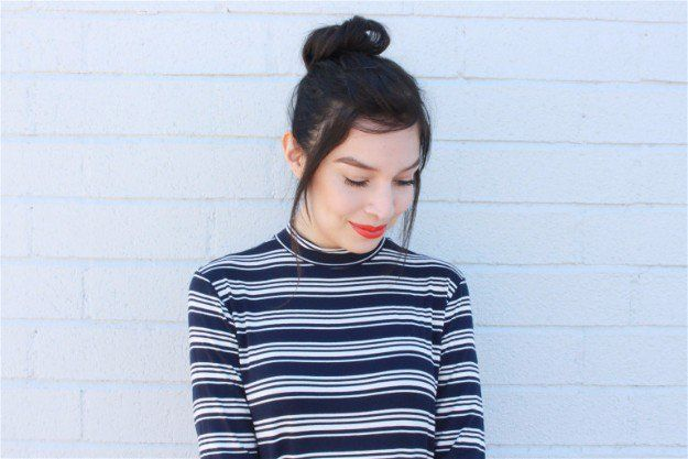 Buns | Easy Hairstyles For Black Friday Morning Shopping