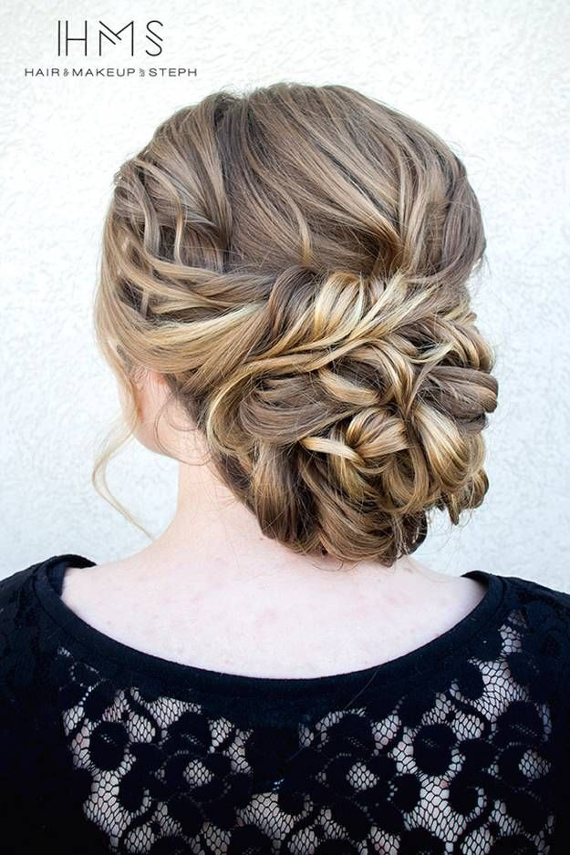 Formal Updo | Homecoming Dance Hairstyles Inspiration Perfect For The Queen