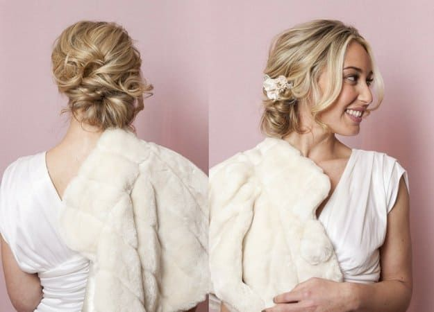 Side Bun With Flowers | Homecoming Dance Hairstyles Inspiration Perfect For The ...