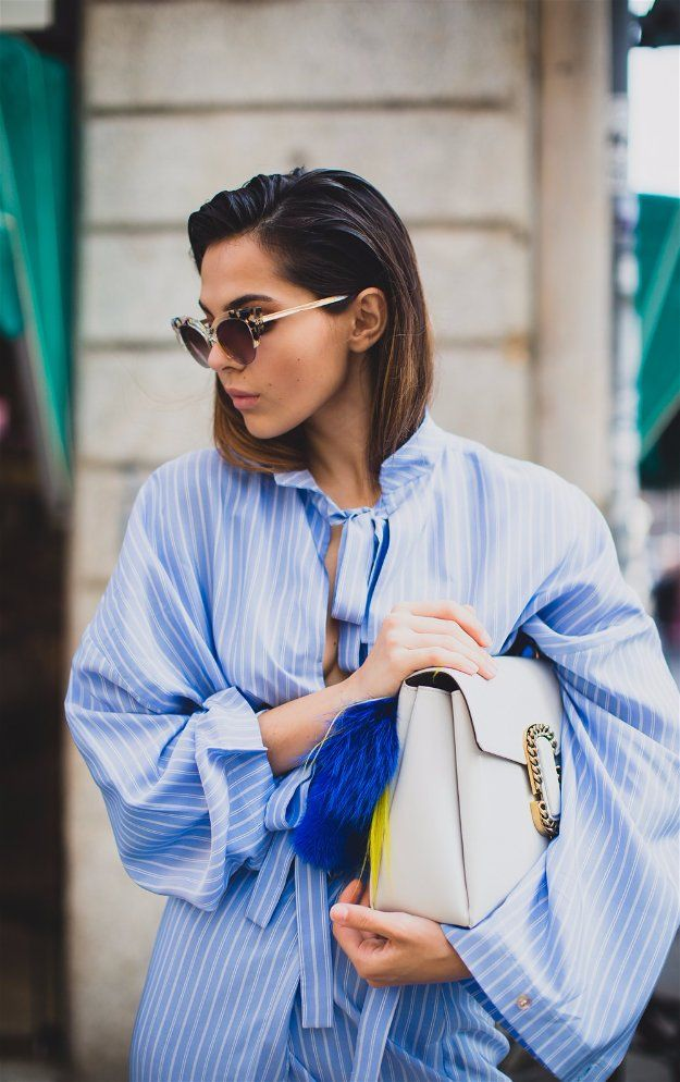 Slicked-Back Hair   Easy Hairstyles For Black Friday Morning Shopping...