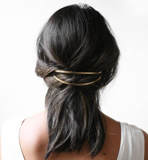 The Hair Clip | 19 Homecoming Dance Hairstyles Inspiration Perfect For The Queen