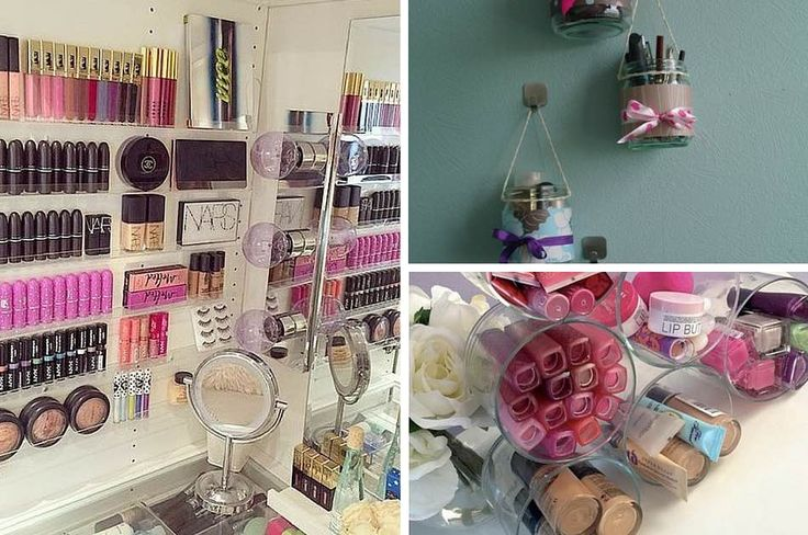 17 Makeup Storage Ideas You'll Surely Love | DIY Makeup Organizer...