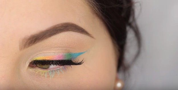 7. Colored Ombre Pastel Eyeliner | 7. Colored Ombre Pastel Eyeliner...