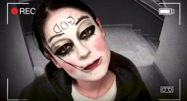 8. God Mask (The Purge: Anarchy) | 10 DIY Movie-Inspired Makeup Tutorials for Ha...