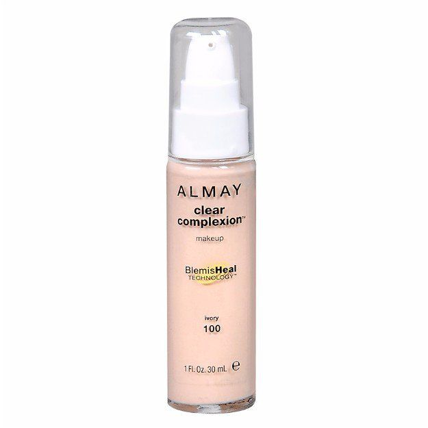 Almay Clear Complexion Blemish Healing Foundation | Best Drugstore Foundation Ba...