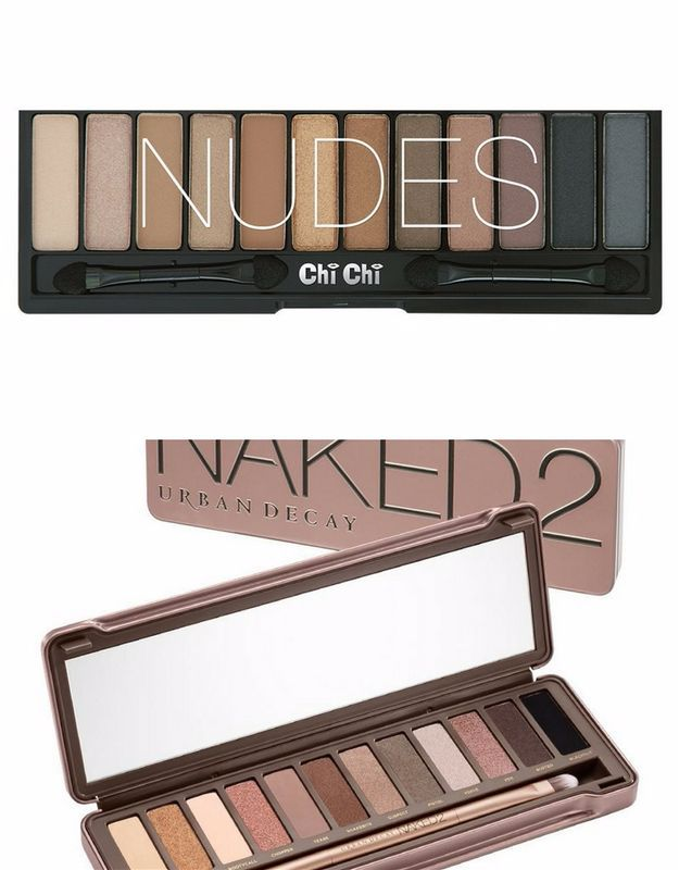 Chi Chi Glamorous Versus Urban Decay Naked 2 | Urban Decay Eyeshadow...