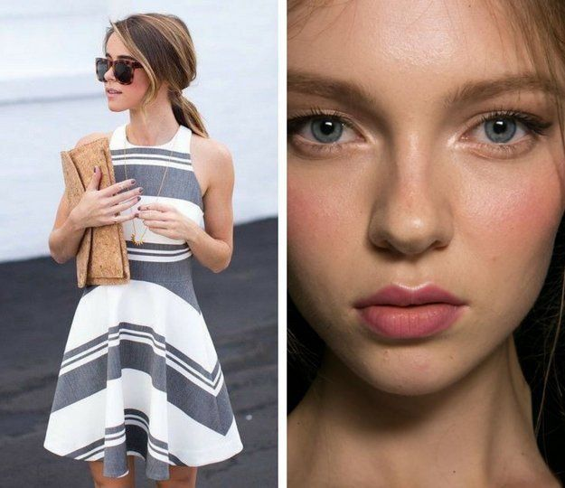 Clean Look and Cool Stripes | Exciting Summer Outfits To Go Well With Your Makeu...