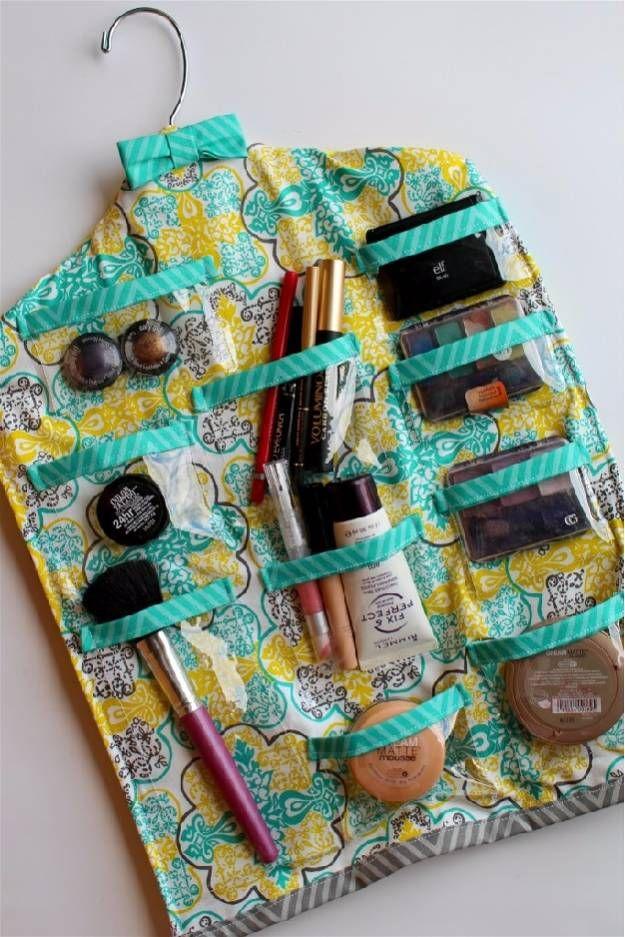 DIY Hanging | Cool Makeup Organizers To Give Your Makeup A Proper Home...