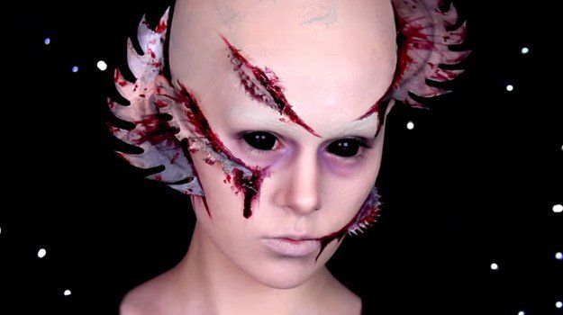 Fornicus (Cabin in the Woods | 10 DIY Movie-Inspired Makeup Tutorials for Hallow...