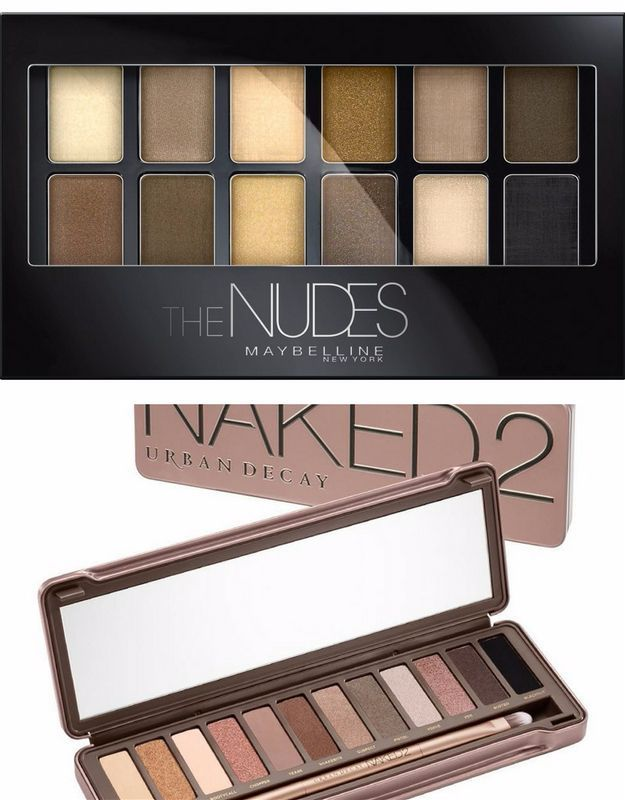Maybelline New York Nudes Versus Urban Decay Naked 2 | Budget-Friendly Urban Dec...