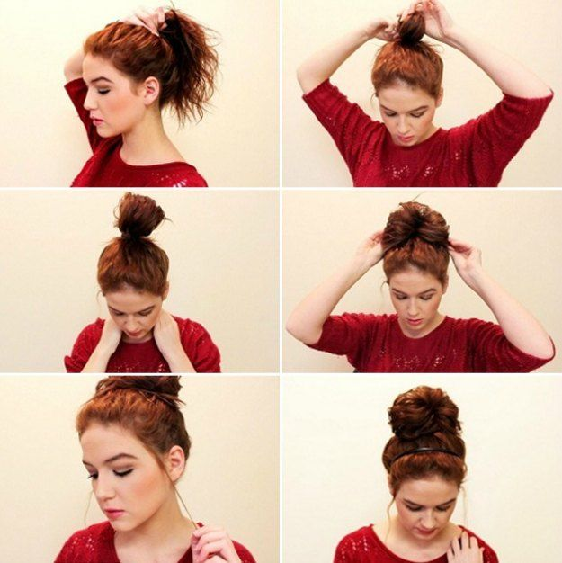 Perfectly Messy Buns | Cool Medium To Long Hairstyles Perfect For Your Summer Ma...