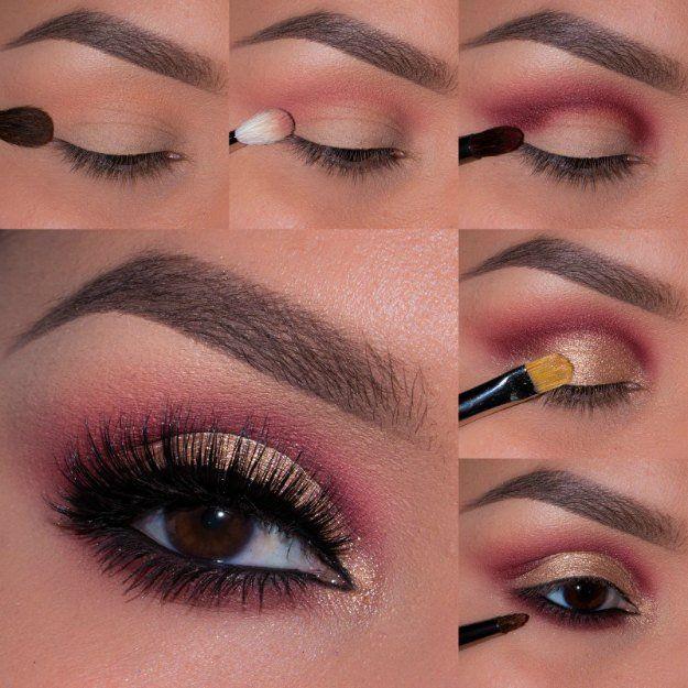 Pink Smokey Eye | Smokey Eye Night Out Makeup Tutorials...