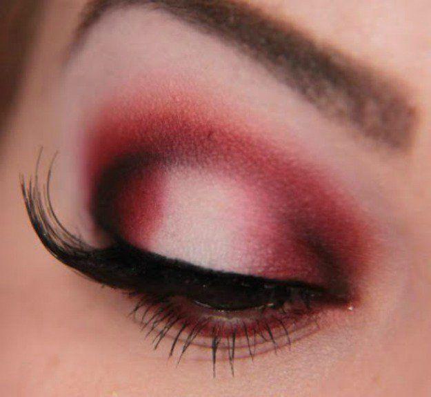 Red Smokey | Smokey Eye Night Out Makeup Tutorials...