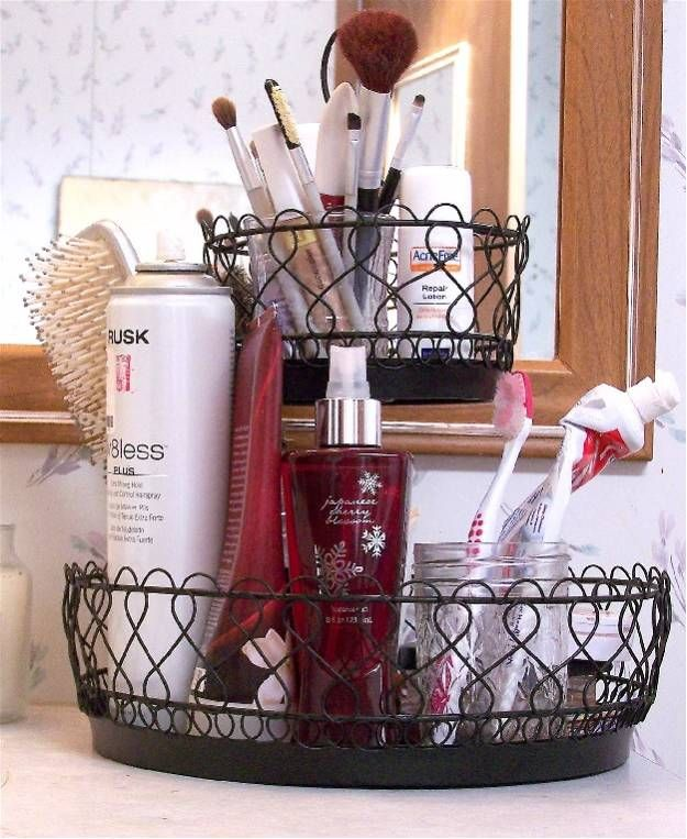 Wire Baskets | Cool Makeup Organizers To Give Your Makeup A Proper Home...
