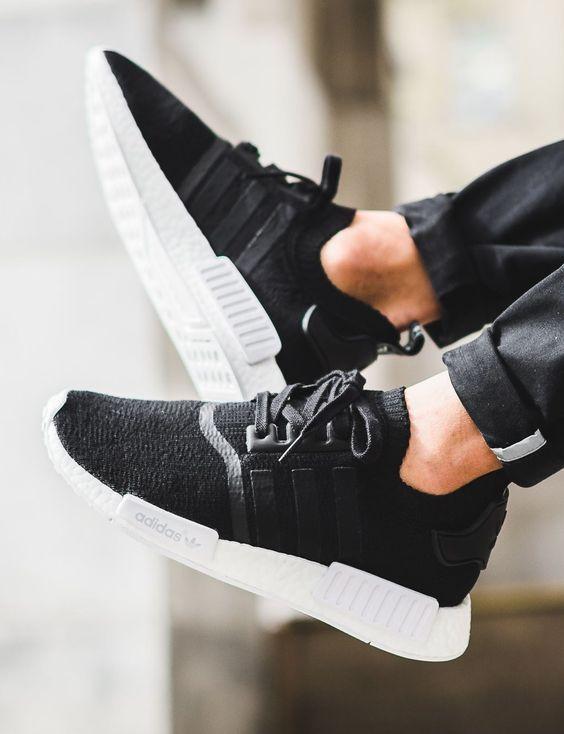 adidas Originals NMD_R1: Black...