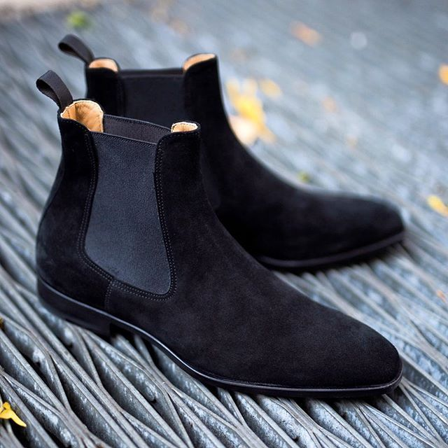 All ◾️ everything. Bet you didn't know you even wanted a black suede boot ...