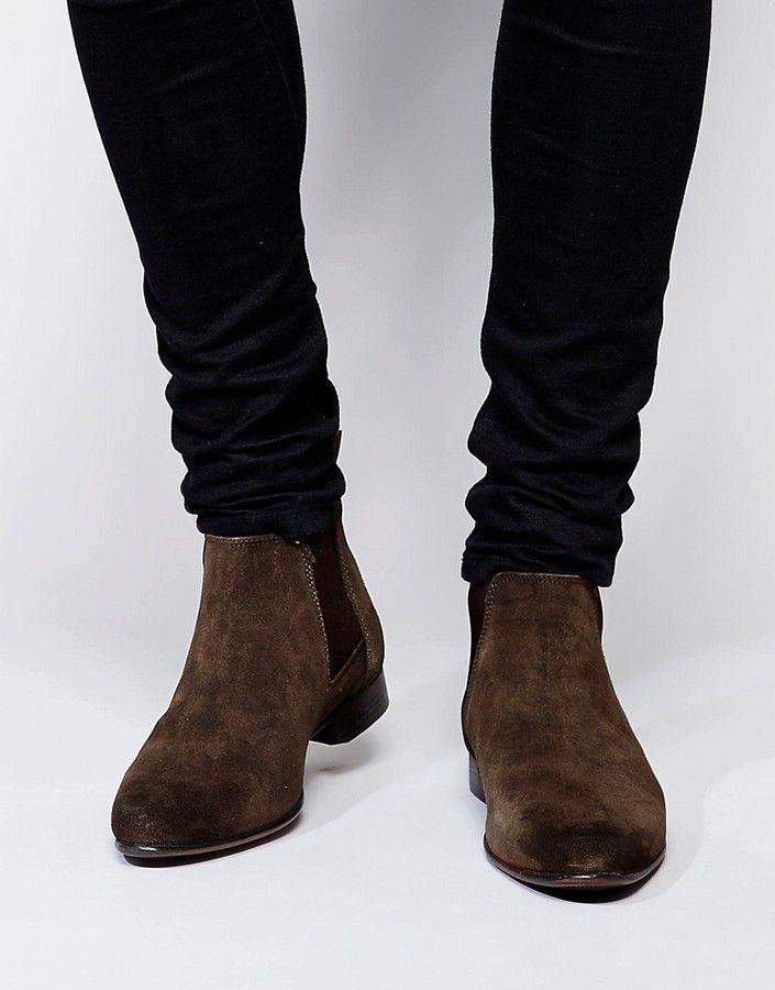 ASOS Chelsea Boots in Suede #ads