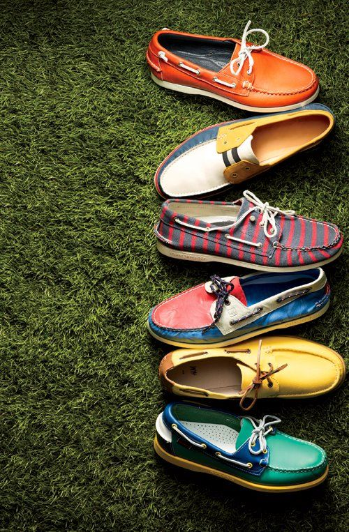 Boat shoes summer...