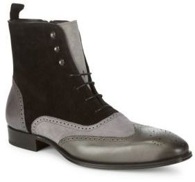 Cerezo Leather Ankle Boots...