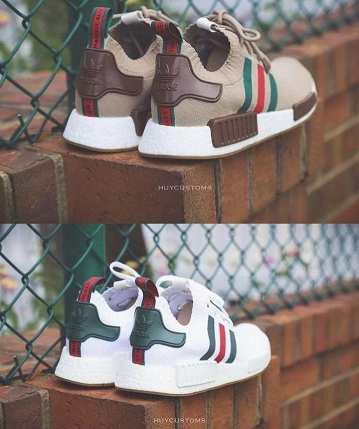 Classic Gucci inspired Adidas NMD.