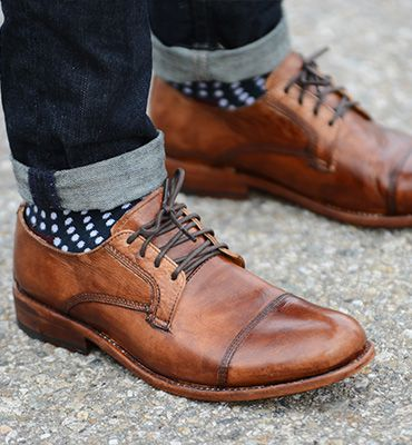 GENOA - Day or Night OUt Casual Men Oxford Shoes - Bed Stu...
