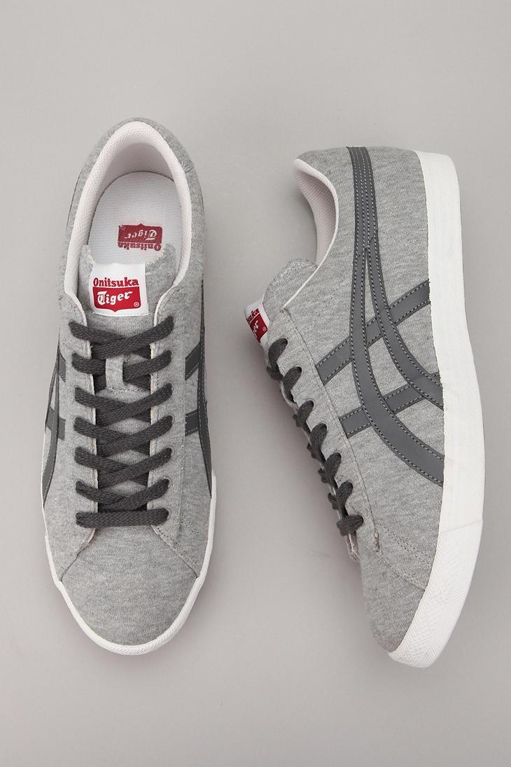 grey ascics...