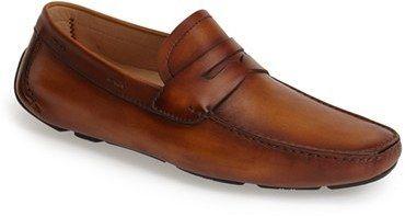 Men's Magnanni 'Dylan' Leather Driving Shoe