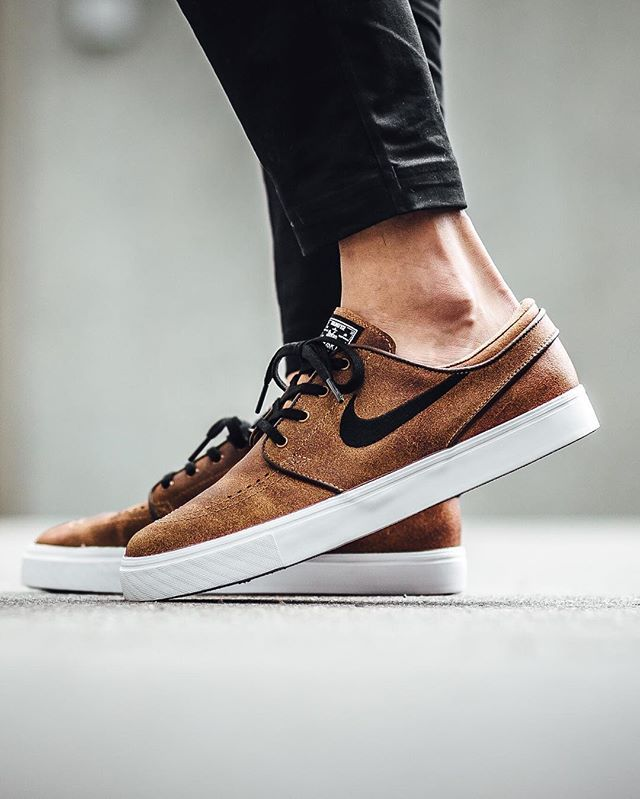 Nike SB Zoom Stefan Janoski Elite 'Ale Brown/Black-White-Dk Field…...