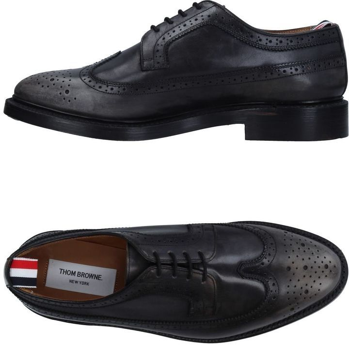 THOM BROWNE Lace-up shoes