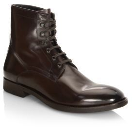 To Boot New York Astoria Leather Booties $398