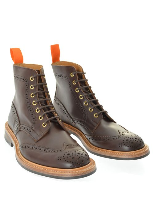 Trickers X Kafka Stow Brogue Nastor Boots