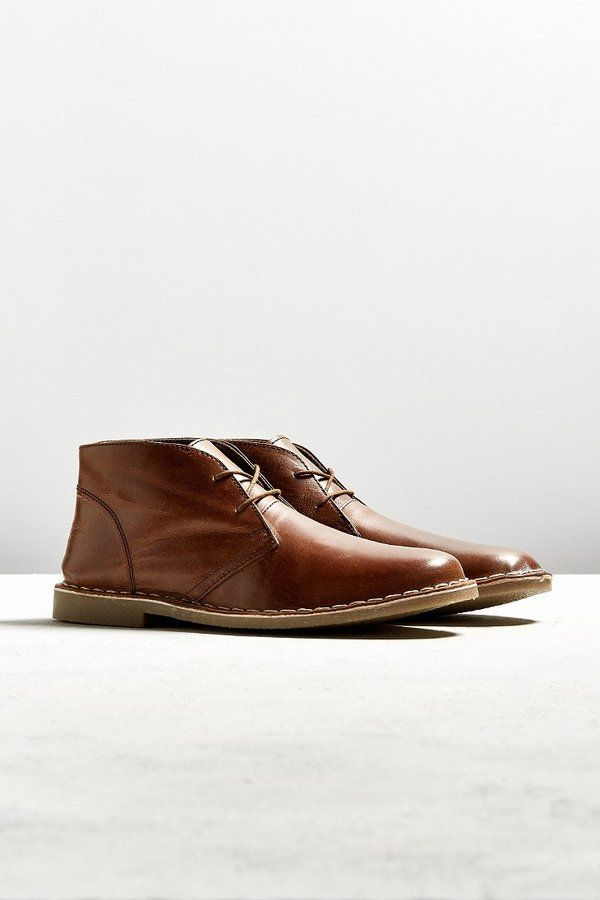 Urban Outfitters UO Leather Desert Boot $29.99