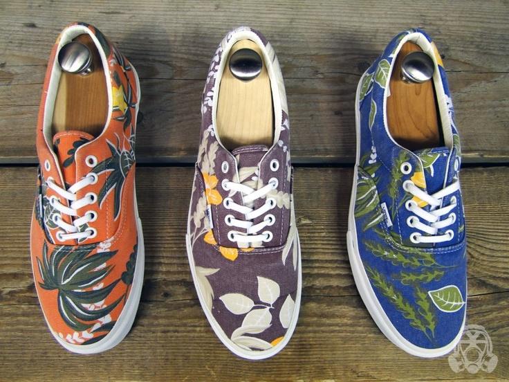 Vans Vault Era LX Aloha Pack  http://www.facebook.com/DressShoesandSneaker...