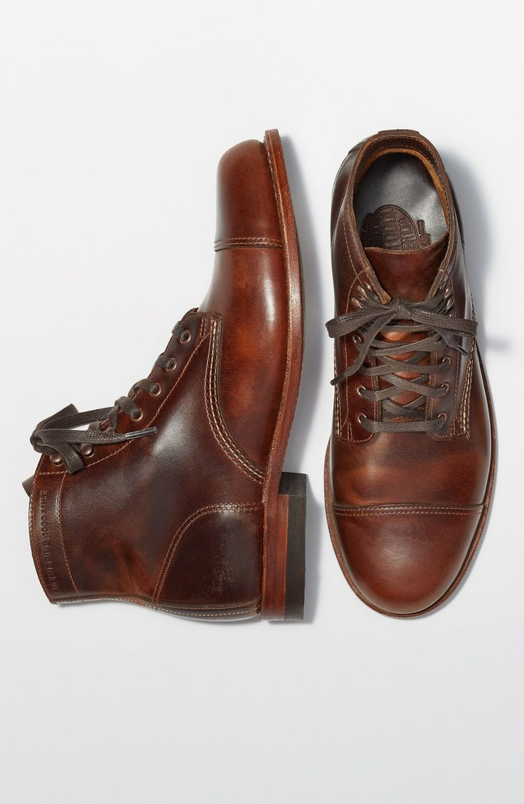 Wolverine '1000 Mile - McClean' Leather Cap Toe Boot...
