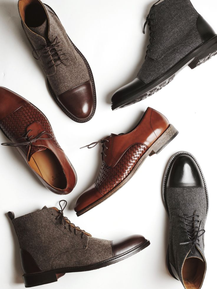 Your Man Needs to be More Fashionable. Complete His Look This Winter—Shoes, Bo...